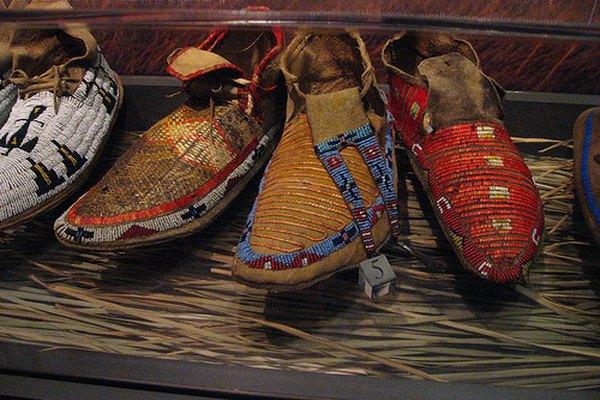 Los diseños para pintar sobre las pieles se elegían en base a su significado.