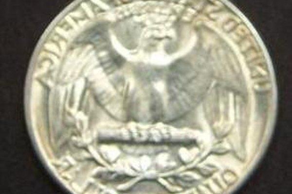 Un cuarto de dólar.