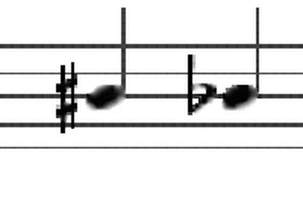 Para aquellos que no han aprendido a leerla, una partitura de piano puede parecer algo menos reconocible que los símbolos extranjeros.