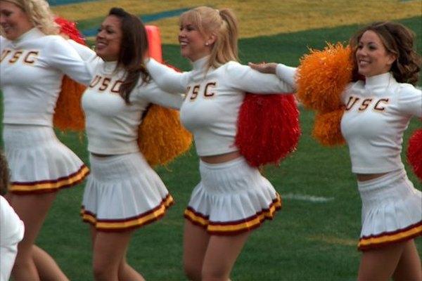Animadoras de la USC.