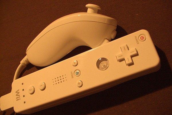 Nunchuk en la Wii.