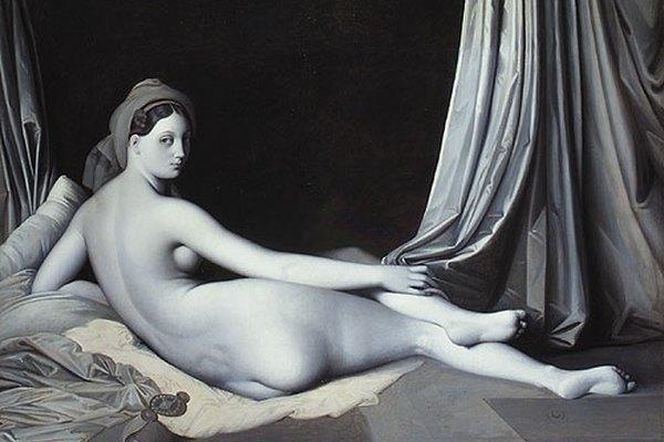 La Odalisca de Ingres.
