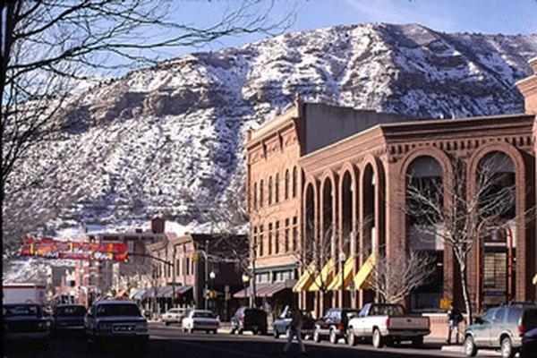 Hay lugares encantadores donde puedes vivir en Colorado.