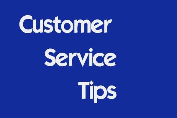 Consejos para el servicio de atención al cliente.