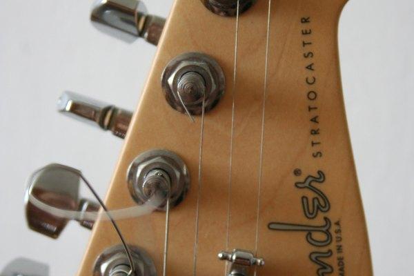 Stratocaster hecha en México.