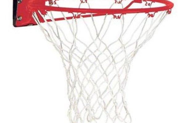 Canasta de baloncesto montable estándar.