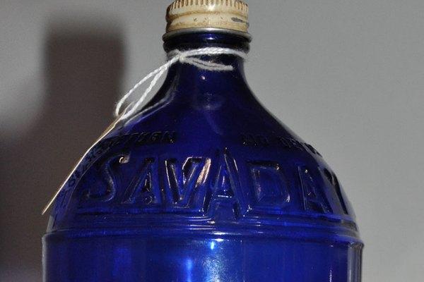 Botellas antiguas de principios de 1900.