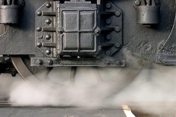 Vapor de una locomotora.