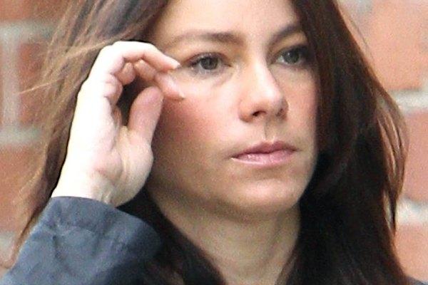 Sofía Vergara es fotografiada con su rostro limpio.