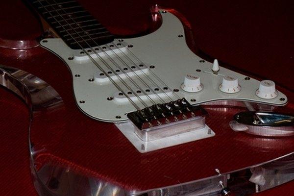 Usa una palanca de vibrato para guitarra.