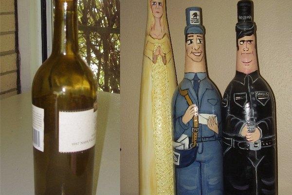 Los frascos pueden adornarse para que se parezcan al personaje que quieras.