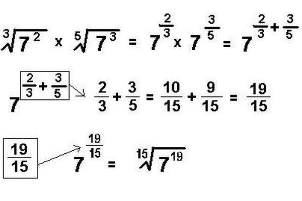 Puedes dejar la expresión en forma de exponente fraccionario, o convertirla a forma radical.