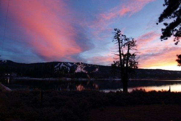 Big Bear Lake.