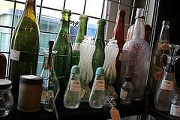 Botellas antiguas.