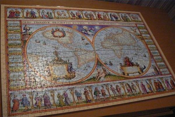 Frame a Jigsaw Puzzle