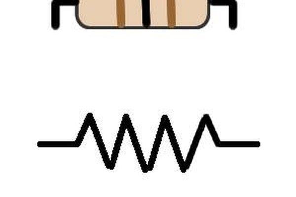 Las resistencias son componentes hechos de conductores o semiconductores.