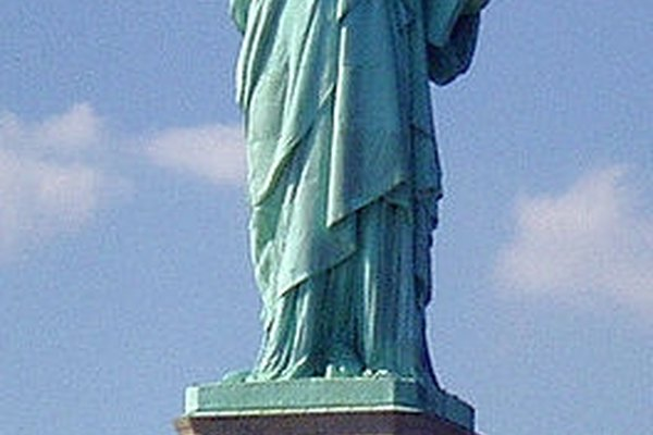 La Estatua de la Libertad es un ícono del arte del metal.