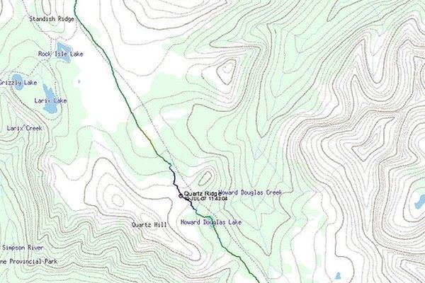 ¿Qué muestra un mapa de contornos?