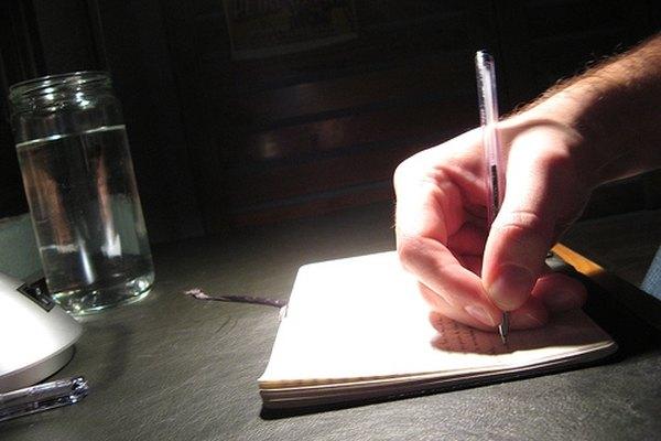 Escribir la secuencia de tu historia en tarjetas te ayuda a mantener todo en orden.