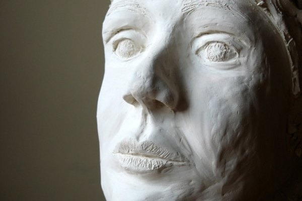 Plaster face