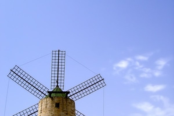 Create a scaled-down windmill