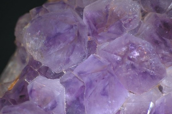 Water glass is made from silica, which can take the form of crystals.