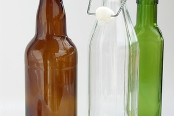 Cut glass bottles with a Dremel rotary tool to reuse them.