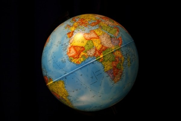 Make a Paper Globe Out of a Balloon