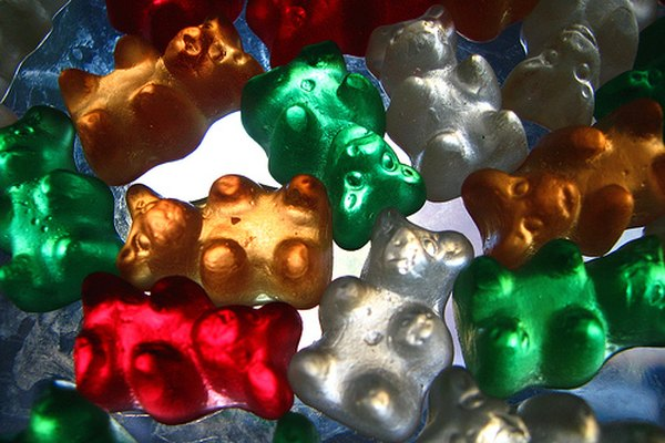 Gummy bears...delicious, but harmful to your car.