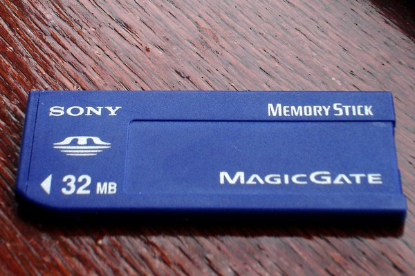 Sony's original Memory Stick