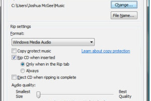 Add a new folder for your audio book.