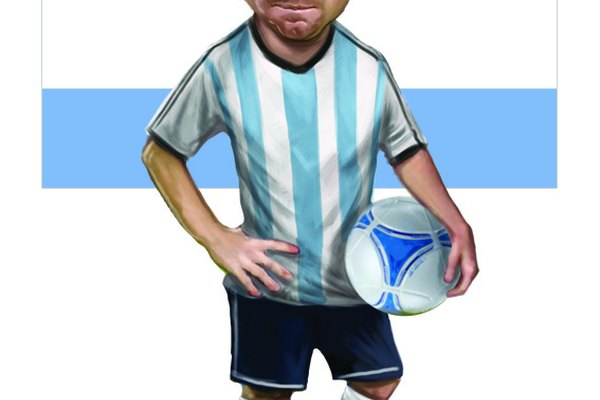 Leo Messi player card