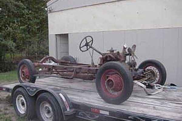 Early Ford Trucks >> How to build a Hot Rod Chassis | It Still Runs