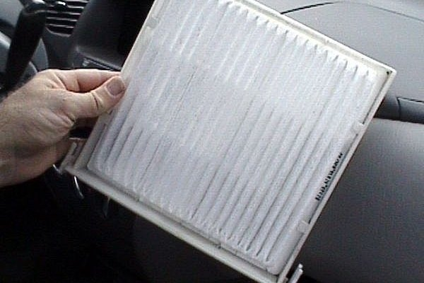 Cabin filters should be changed periodically.