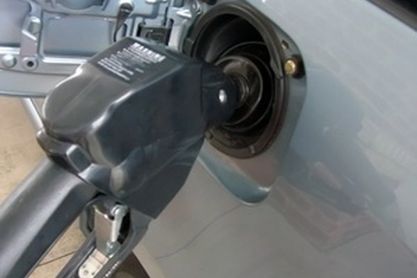 Repair the fuel line before adding gas to your vehicle.