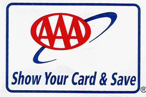 AAA card and logo example