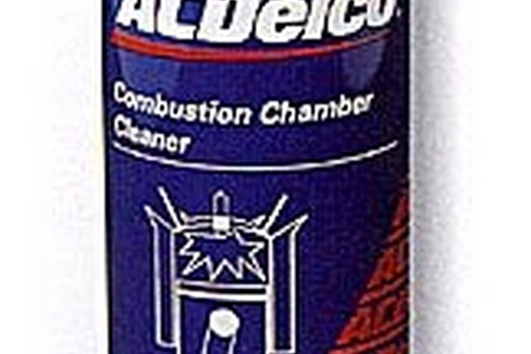 Can of combustion chamber cleaner