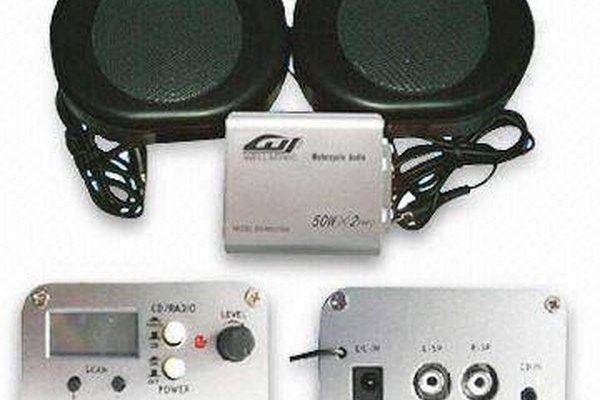 Motorcycle Stereo Kit