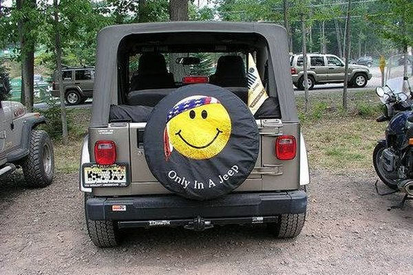 Custom Tire Cover