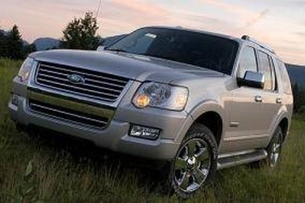 The 2009 Ford Explorer