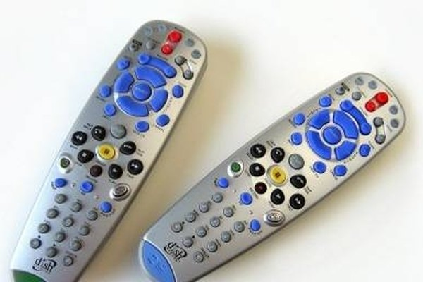 Program a DVR Remote Control to a TV