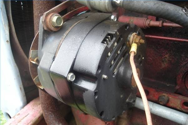 How To Wire An Alternator On A Tractor: A Case Tractor Wiring Diagram For Alternator At Johnprice.co