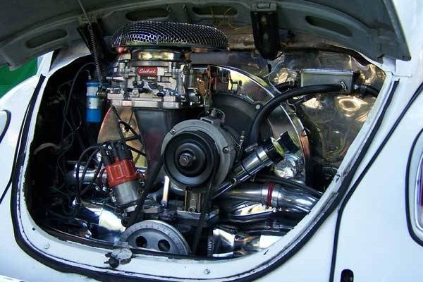 Volkwagen Beetle engine