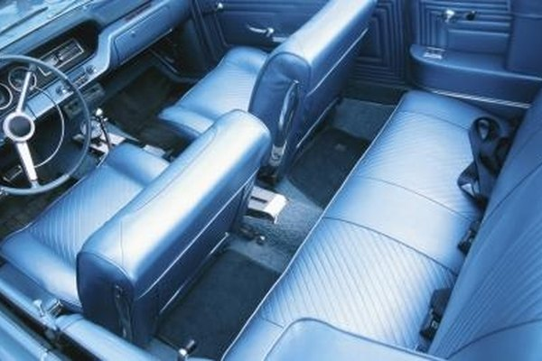 Leather seats can crack or fray if not properly conditioned.