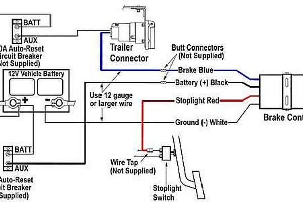 How to Install an Electric ke Controller | It Still Runs Electric Trailer Breakaway Wiring Diagram on rv trailer brakes wiring-diagram, electric brake wiring, break away wiring-diagram,