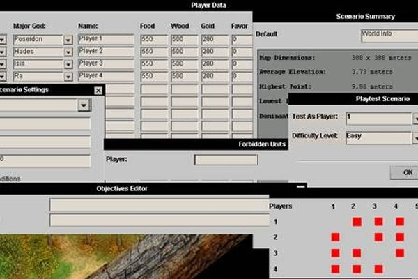 How to Use the Age of Mythology Editor   It Still Works