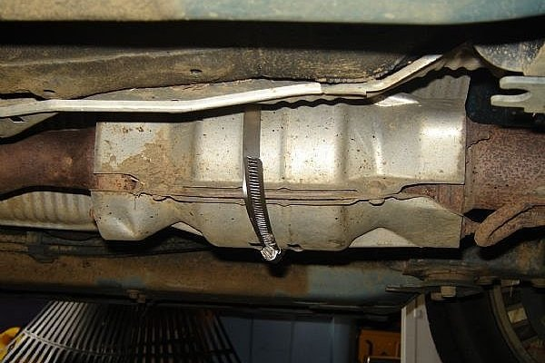 Fix Catalytic Converter Heat Shield Rattle