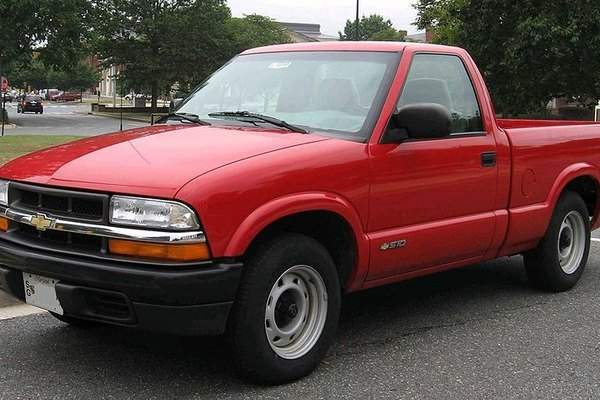 Replace a failed speed sensor on your Chevy S10.