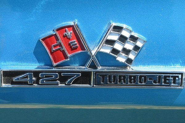 Chevy 427 engine emblem