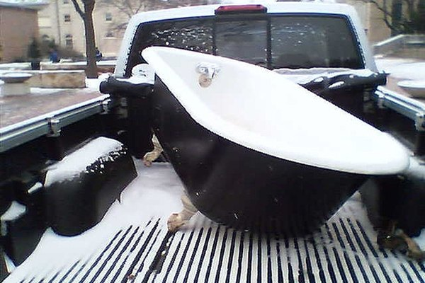 Truck bed covers keep out the elements and keep items in.